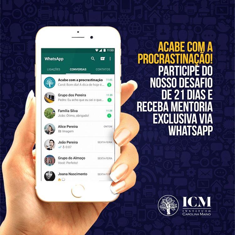 Redes sociais ICM