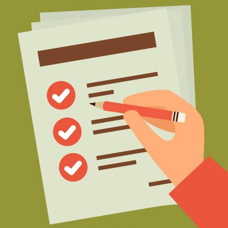 Checklist criar um blog