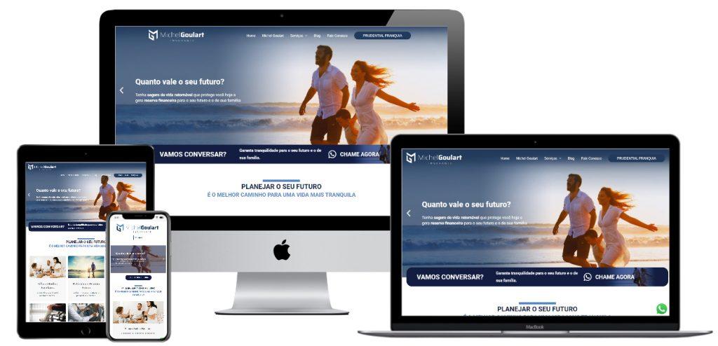 Website Michel Goulart Insurance